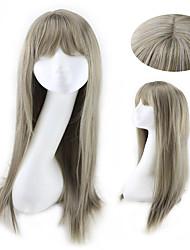 nouvelle couleur chaleur pas cher perruque synthétique résistant longue ligne droite de longueur pour tous les jours ou cosplay