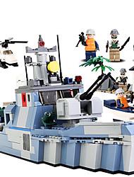 Bausteine Für Geschenk Bausteine Model & Building Toy Flugzeugträger ABS 2 bis 4 Jahre 5 bis 7 Jahre 8 bis 13 Jahre 14 Jahre & mehrBlau
