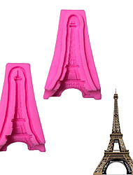 Eiffel Cramp Iron  Pattern  Candy Fondant Cake Molds  For The Kitchen Baking Molds