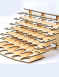 outils de modèle Kingdom® de crabe Rack de stockage de peinture en bois petit rack de peinture tamiya laque diy