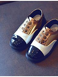 Mädchen-Stiefel-Lässig-PUKomfort-Rosa Gold