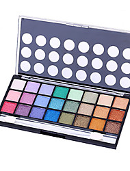 1Pcs Twenty-Four Colors Pearl Matte Smoked Eye Shadow Lasting Nude Makeup Earth Colors Makeup Palette