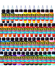 Solong Tattoo 54 Colors Tattoo Ink Set 1oz Tattoo Supply TI301-30-54