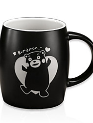 Kumamon Cartoon Drinkware, 400 ml Heat-Insulated  Ceramic Tea Coffee Mug