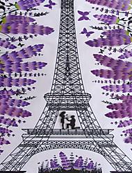 Architecture Stickers muraux Autocollants muraux 3D Autocollants muraux décoratifs,Vinyle Matériel Décoration d'intérieur Calque Mural