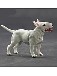 Tue so als ob du spielst Model & Building Toy Spielzeuge Neuartige Hunde Plastik Weiß Für Jungen