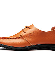 Men's Fashion Casual Genuine Leather Boat Shoes/Oxfords