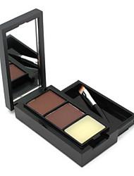 Продукты для бровей порошок Сухие Цветной глянец Натуральный Глаза M.N