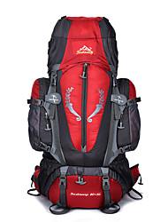 Fengtu 80L5L Hiking Backpack for Men Camping Traveling Sports Bag Large External Frame Backpacks