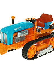 Фермерская техника Игрушки Игрушки на солнечных батареях 1:18 Металл ABS Пластик Серебристый Модели и конструкторы