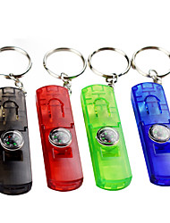 Cat Dog Electronic Whistles Portable Red Black Green Blue Purple Random Color Plastic 4 in 1 Multi-Function Plastic With LED Compass