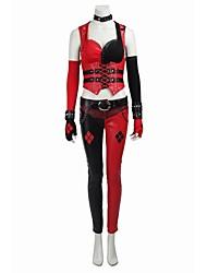 Costumes de Cosplay Costume de Soirée Bal Masqué Pour Halloween Superhéros Forme Chauve-Souris Burlesques Cosplay Cosplay de FilmRouge