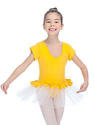 Tutus & JupesCoton Tulle LycraFemme Enfant Entrecroisé Ruches Fantaisie Spectacle Danse classique