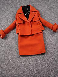 la nouvelle partie européenne de la mode européenne femmes sac de marchandises petit vent laine jupe jupe pièce de costume marée parfumée