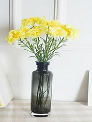 1 Branch Carnations Artificial Flowers (Random color)