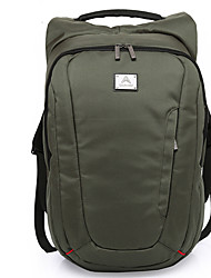 35 L Hiking & Backpacking Pack Waterproof Wearable Black Army Green