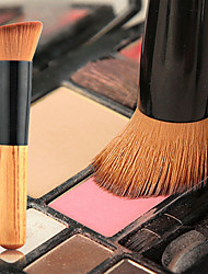 1pcs BB Cream Foundation Brush Nylon Synthetic Hair Professional  Eco-friendly  Portable Wood Face Others