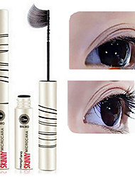 1Pcs Slim Delicate Mascara Thin Volume False Eyelashes Makeup Lengthening Thick Waterproof Cosmetics
