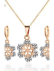 Schmuck 1 Halskette 1 Paar Ohrringe Hochzeit Party Alltag Aleación Acryl 1 Set Damen Goldfarben Silber Regency Hochzeitsgeschenke