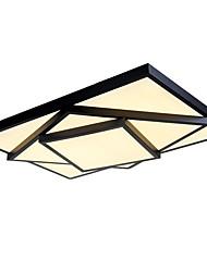 64 Montagem do Fluxo ,  Contemprâneo Tradicional/Clássico Pintura Característica for LED Estilo Mini MetalSala de Estar Sala de Jantar