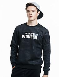 пружинные мужчин&# 39, S с длинными рукавами футболки мужчин&# 39, S свитер пальто грунтовки рубашку тонкий круглый свитер шеи