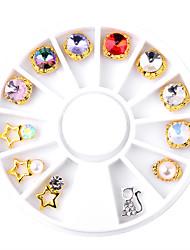1pcs Unha Arte Decoração strass pérolas maquiagem Cosméticos Designs para Manicure