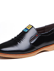 Men's Fashion Casual Pointed Toe Genuine/Real Leather Shoes
