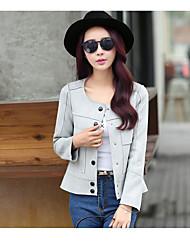 korean manteau court féminin était suède mince femme printemps 2016 printemps nouvelles femmes&veste courte de # 39;