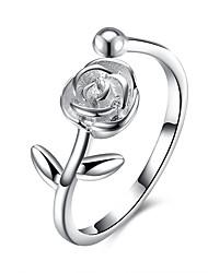 Ringe Hochzeit Party Schmuck Sterling Silber Ring 1 Stück,Eine Größe Silber