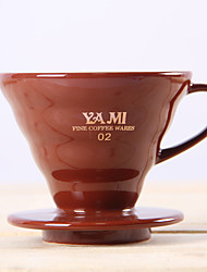 ml  Ceramic Coffee Filter , 2 cups Drip Coffee Maker Reusable