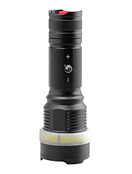 U'King Светодиодные фонари LED 2000 Люмен Режим Cree XM-L T6 Батарейки не входят в комплект для Походы/туризм/спелеология Повседневное