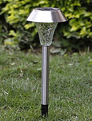 Stainless Steel Water Cube Solar Light