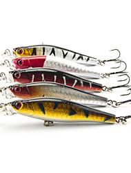 5 Stück kleiner Fisch kleiner Fisch Zufällige Farben 0.008 g Unze mm Zoll,Kunststoff Angeln Allgemein