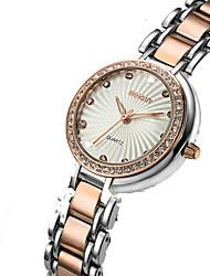 Women's Wrist watch Quartz Stainless Steel Band Gold Brand