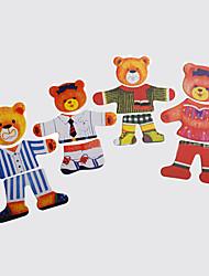 Spielzeuge Spiele & Puzzle Spielzeuge Neuartige Bär Holz Regenbogen Für Jungen Für Mädchen