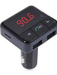 BC12 Car Bluetooth MP3 Car Bluetooth Handsfree 3USB Car Charger New FM Transmitter
