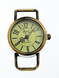 Masculino Relógio de Moda Quartzo Lega Banda Casual Bronze Bronze