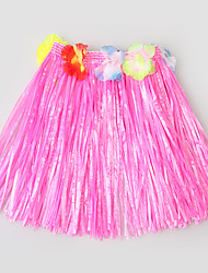 Belly Dance Performance Dress Children's Performance Polyester Splicing 1 Pieces Kid's Dancewear Skirt Green/Fuchsia/Blue/Yellow/Red
