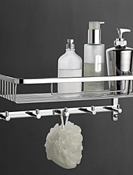 Bathroom Shelf / ChromeBrass /Contemporary