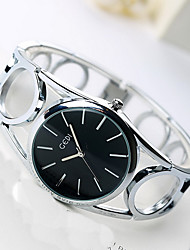 Women's Fashion Watch Quartz Water Resistant / Water Proof Alloy Band Casual Black