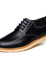 Men's Fashion Casual Pointed Toe Genuine/Real Leather Shoes/Oxfords