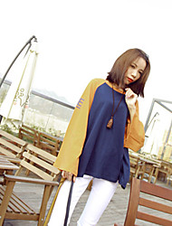 Spot ~ spring new hit color printing large raglan sleeves motion collapse collapse sleeved T-shirt