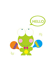 Wall Stickers Wall Decals Style Big Eyes Frog Switch PVC Wall Stickers