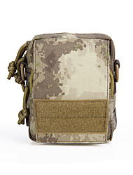 3 L Waist Bag/Waistpack Camping & Hiking Hunting Outdoor Dust Proof Wearable Camouflage Nylon canislatrans