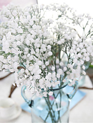 Set of 6 Wedding Babysbreath Flowers Bouquets for Lady High69cm
