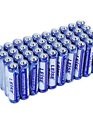 LEISE LST7AAA-40 AAA Carbon Zinc Battery 1.5V 40 Pack