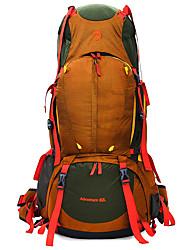80 L Заплечный рюкзак Восхождение Путешествия Отдых и туризмВодонепроницаемость Дожденепроницаемый Водонепроницаемая молния Пригодно для