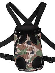 Net Cloth Pet Dog Carry Bag Camouflage Pet Backpack Backpack