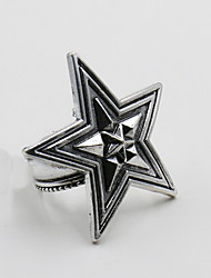 Ring Alloy Star Fashion Iron Jewelry Daily Casual 1pc