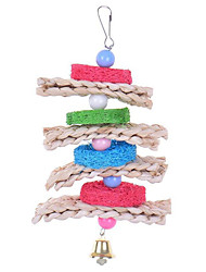Bird Toys Textile Multi-Color